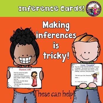Inference Cards!  Help Kids Develop a Deeper Understanding!