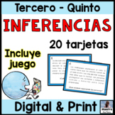 Making Inferences in Spanish - Inferencias- Draw conclusions in Spanish