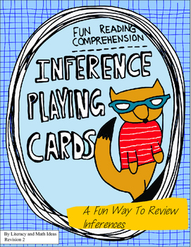Inference:  Character Playing Cards
