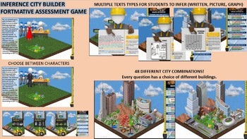 Inference City Builder 2.0 - Engaging Formative Assessment Game