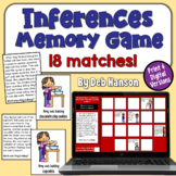 Inference Concentration Game or Comprehension Activity (36