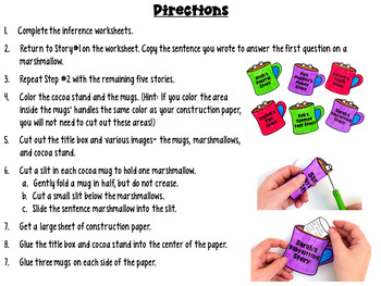 Inferences Craftivity for Winter
