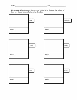 Inference Cut and Paste Activity