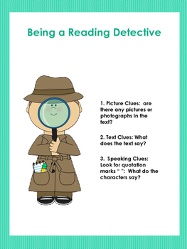 Making Inferences Detective Lesson (Comprehension)