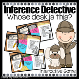 Inference Detective - PowerPoint Game