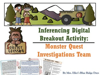 Inference Digital Breakout: Monster Quest Investigations