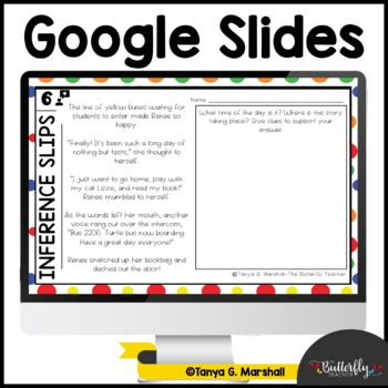 Inference Exit Slips | 5th & 6th Grade Reading Exit Slips [Editable]