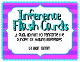 Inference Flash Cards