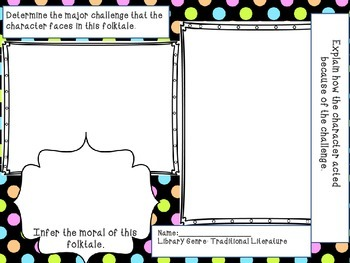 Inference Folktale Graphic Organizer