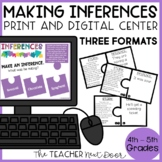 Making Inferences Game | Making Inferences Center