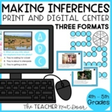 Making Inferences Game Print and Digital Distance Learning