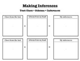 Inference Graphic Organizer: Squares