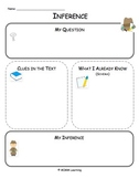 Inference Graphic Organizer - Universal
