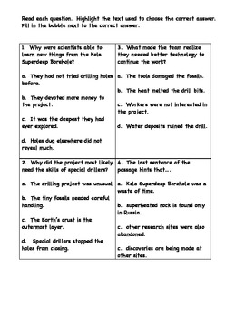 Inference Guided Reading Mini-Lesson