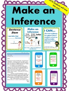 Inference: Interactive, Critical Reading, Cold Read, iPhone questions!