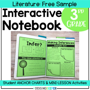 Inference Interactive Notebook Pages FREEBIE!