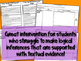 Inference Intervention Activity-Using the It Says, I Say,
