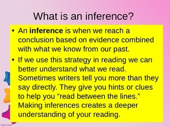 Inference Introductory Lesson