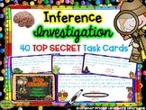 Inference Investigation: 40 TOP SECRET Task Cards