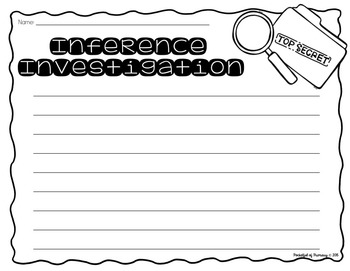 FREEBIE - Inference Investigation: Turn Your Classroom into a Crime Scene!