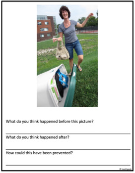Inference Investigation: What Happened Before and After? Real Pictures