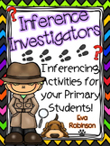 Inference Investigators: Inferencing Activities for your Primary Students!