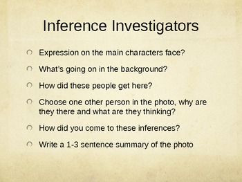 Inference Investigators