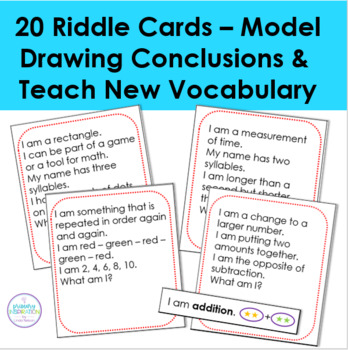 Math Vocabulary Riddles