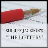 "Inference Lesson with Shirley Jackson's ""The Lottery"" - ELA"
