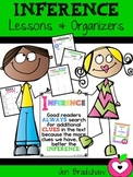 Inference Lessons & Organizers ~ Metacognition ~ Reading Comprehension