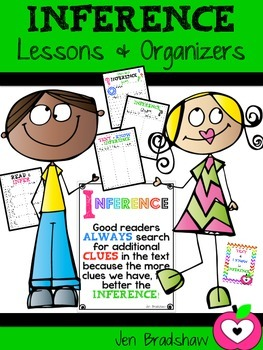 Inference Lessons & Organizers ~ Metacognition ~ Reading C