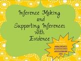 Inference Making and Supporting with Evidence