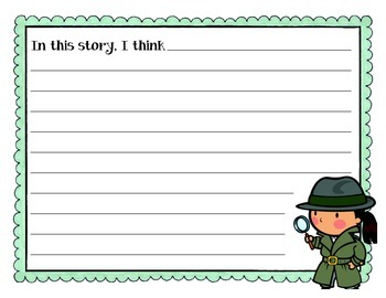 Inference Mini-Anchor Chart & Writing Activity