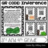 QR Code Inferences: 3rd and 4th Grade