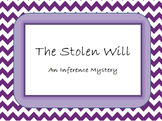 Inference Mystery Activity - The Stolen Will
