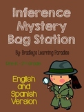 Inference Mystery Bag Station - English and Spanish