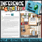 Making Inferences: Inference Detective (All That Glamour) Editable PDF/Paper