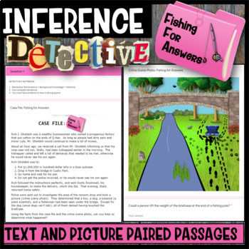 Making Inferences Inference Detective Fishing For Answers By Mypaths