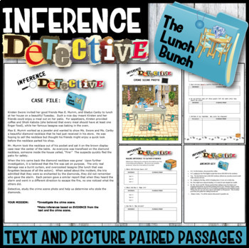 Making Inferences Inference Detective The Lunch Bunch Mystery By