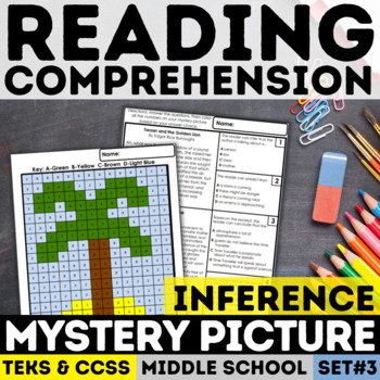 Inference Mystery Picture - Palm Tree