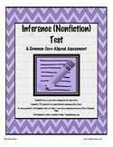 Inference (Nonfiction) Test