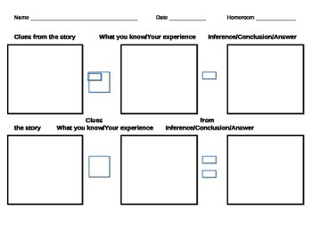 Inference Organizer