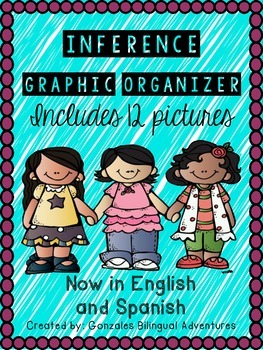 Inference Pictures Graphic Organizer/ Bilingual