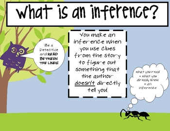 Inference in Literature: The Wizard of Oz Worksheet for 6th - 8th ...