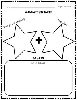 Inference Practice Passages with Graphic Organizer