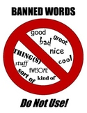 Banned Words Printable Sign