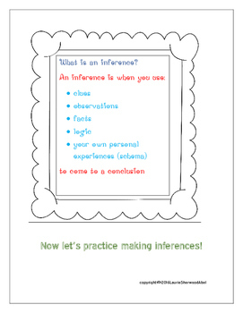 Inference Practice - Stories and Questions   Ready to Print and Use