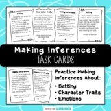 Inferencing Task Card Bundle - Requires Citing Evidence - Making Inferences