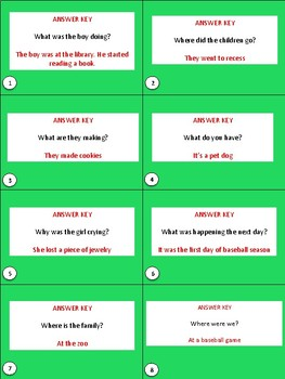 Inference Practice Task Cards
