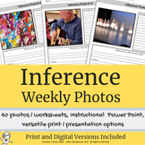 Inference Practice Weekly Photos - Distance Learning